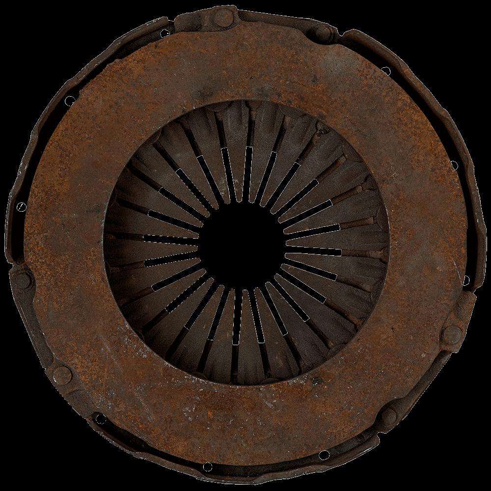 damaged pressure plate