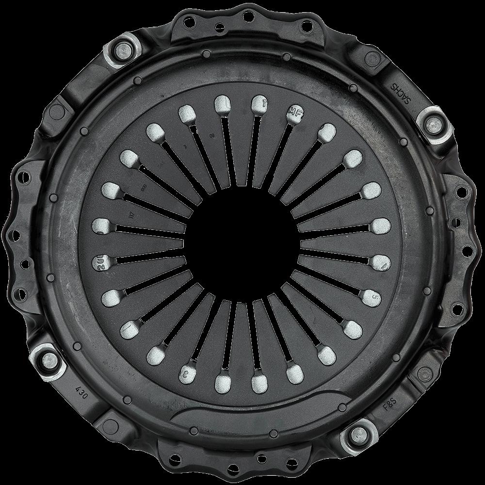 restored pressure plate